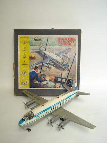 Schuco Elektro Radiant 5600 KLM Vickers Viscount passenger airliner