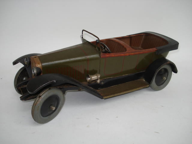 JeP 7391 c/w open four-seater Delage Tourer, 1920's