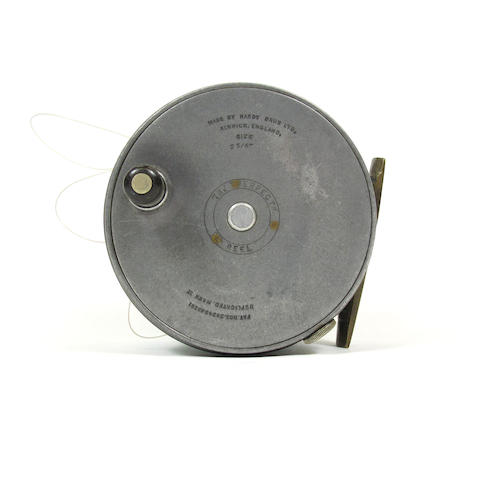 A Hardy The 'Perfect' 3¾in. alloy reel