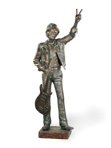 Allen Curran: 'John Lennon - Steel And Glass' 1981,