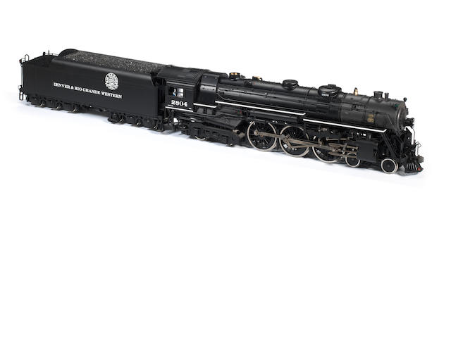 USA Trains gauge I (1:29 scale) electric model of the J1e Hudson 4-6-4 locomotive and double bogie tender