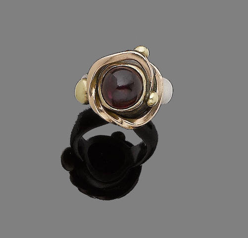 A garnet ring, by Tom McEwan