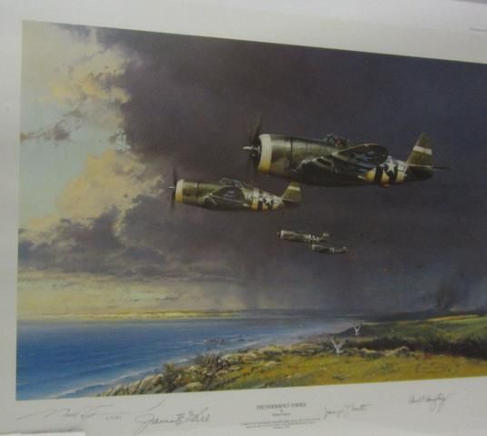 'Thunderbolt Strike' after Robert Taylor,