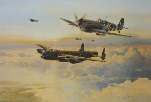 'Escort for the Straggler' after Robert Taylor,