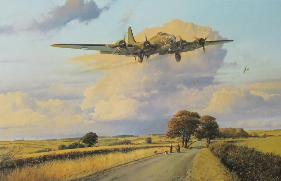 'Escort for the Straggler' after Robert Taylor,