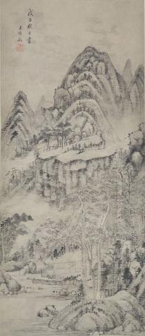 Wang Shimin (1592-1680) Landscape
