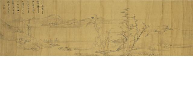 Zha Shibiao (1615-1698)  Landscape in the Style of Ni Zan
