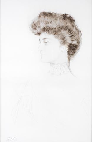 Paul César Helleu (French, 1859-1927) Alexandra Drypoint
