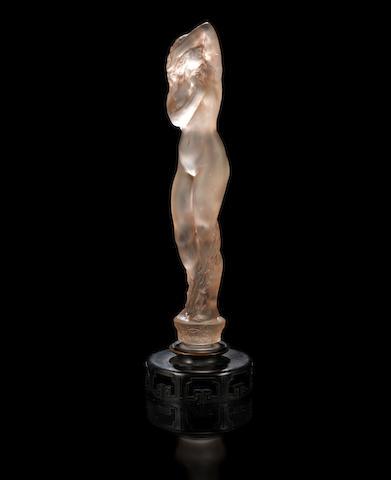 René Lalique 'Grande Nue Socle Lierre' a Statuette, design 1919