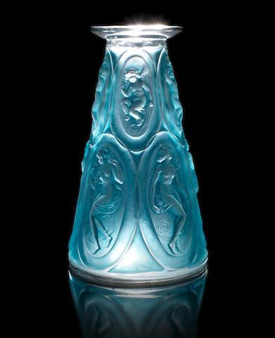 René Lalique  'Camées' a Vase, design 1923