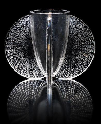 René Lalique 'Orly' a Vase, design 1935