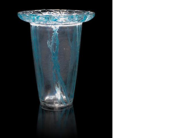 René Lalique 'Bordure Epines' a Vase, design 1913