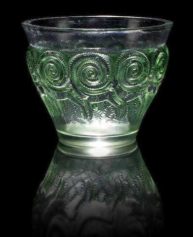 René Lalique  'Rennes' a Vase, design 1933