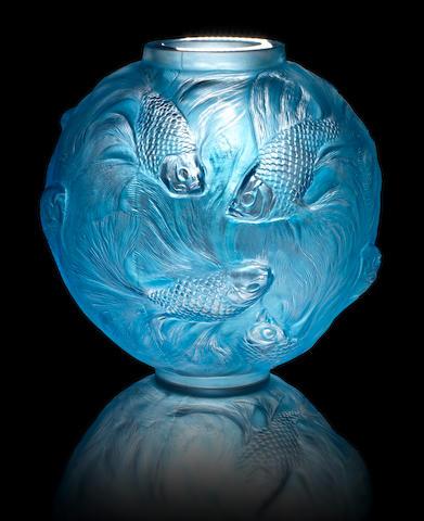 René Lalique 'Formose' a Vase, design 1924