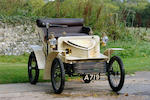 Ordered new for Percy Kidner, Vauxhall Managing Director.,1903 Vauxhall 5hp Two-seater Light Car  Chassis no. 0335 Engine no. 0335