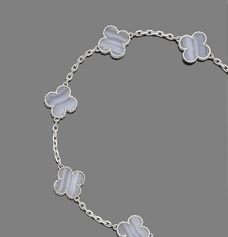 An 'Alhambra' bracelet, by Van Cleef & Arpels