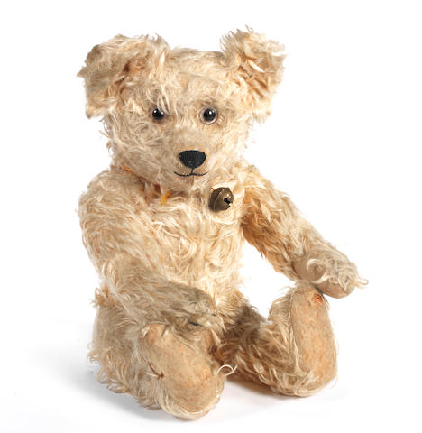 'Jopi' musical Teddy bear, 1930's