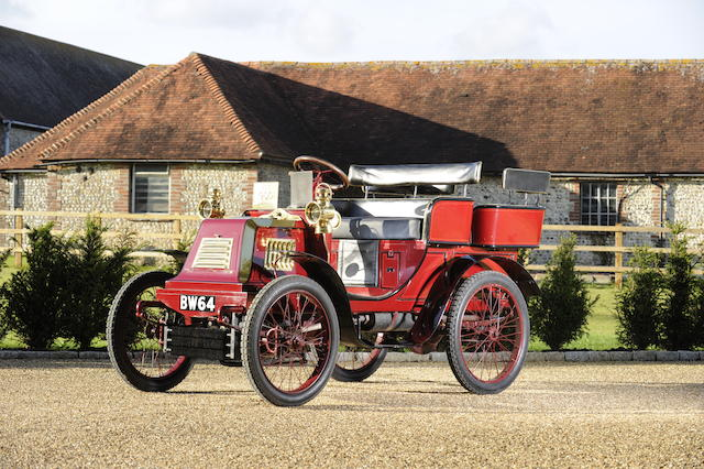 Present family ownership since 1964,1900 Darracq 6½hp Four seater Voiturette  Chassis no. 50 Engine no. 829