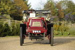 Present family ownership since 1964,1900 Darracq 6 1/2hp Four seater Voiturette  Chassis no. 50 Engine no. 829