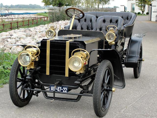 1904 Delaugère & Clayette  24hp Type 4A  Chassis no. 205 Engine no. 12