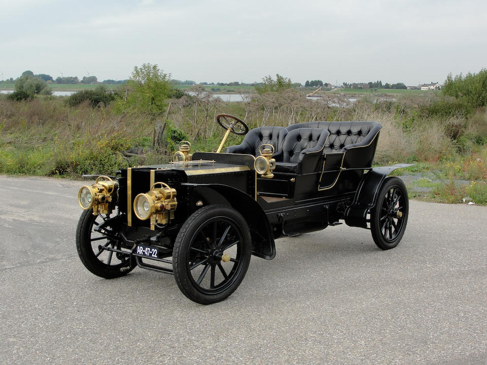1904 Delaugère et Clayette 24hp Four-Cylinder Side-Entrance Tonneau  Chassis no. 205 Engine no. 12