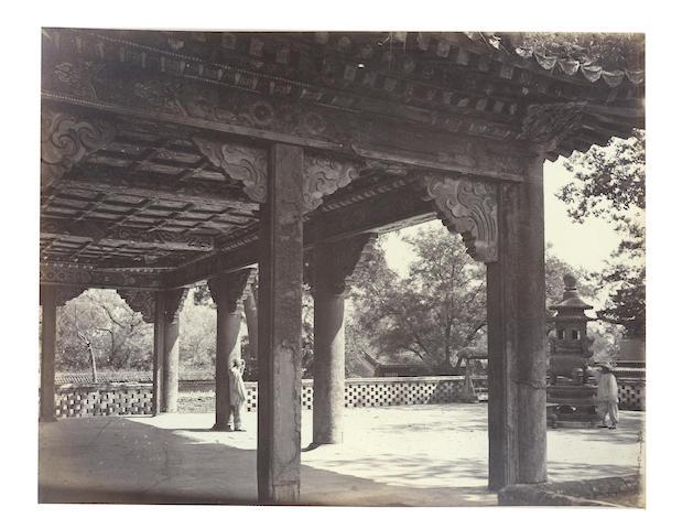 CHINA THOMSON (JOHN) An album of approximately 63 images, albumen prints [c.1870]