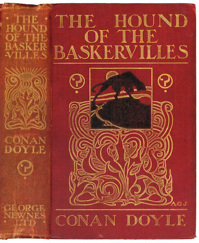 DOYLE (CONAN)  The Hound of the Baskervilles, George Newnes, 1902
