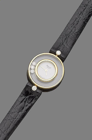 A 'Happy Diamond' wristwatch, by Chopard