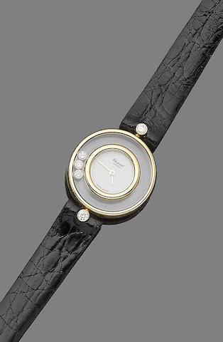 A 'Happy Diamond' wristwatch, by Chopard