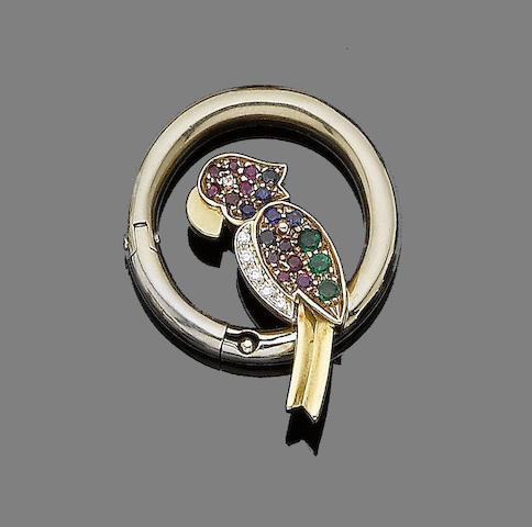 A gem-set clasp,  by Pomellato