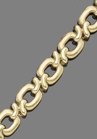 A fancy-link bracelet, by Weingrill