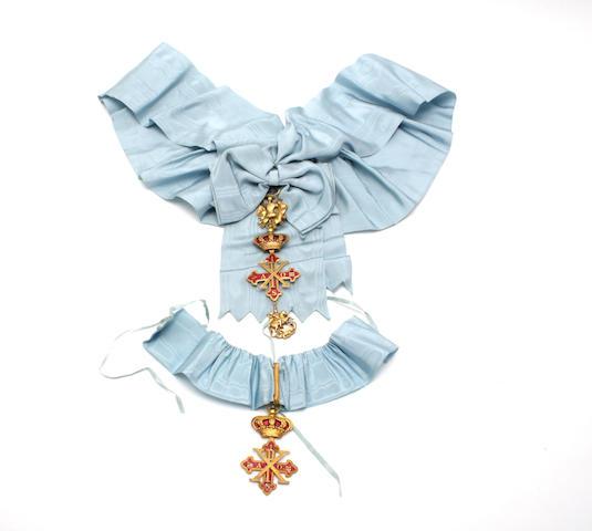 Malta, Sovereign Military Order of St John of Jerusalem, knight of Honour and Devotion neck badge