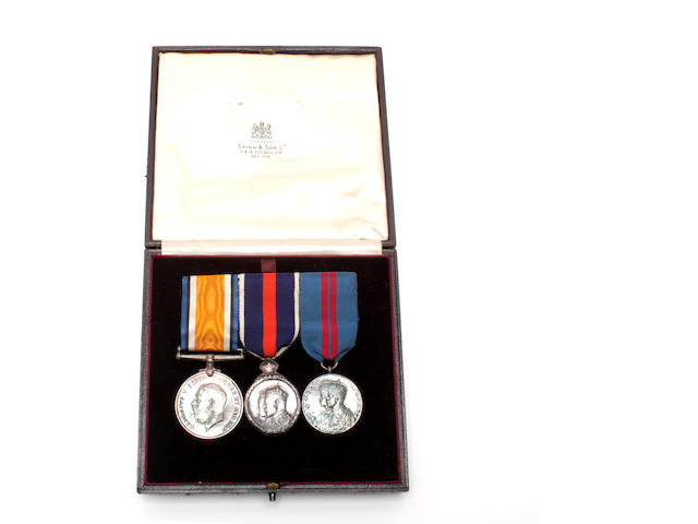 Group of three to Lieutenant Hon E W K Gully RN VR