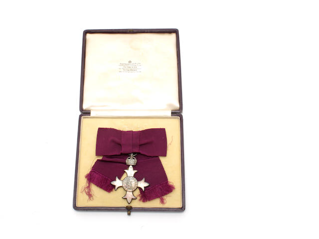 An MBE breast badge, ladies issue, 1st type, Civil Division