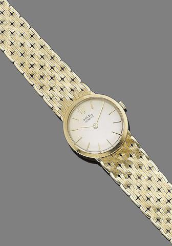 A lady's wristwatch, by Rolex,