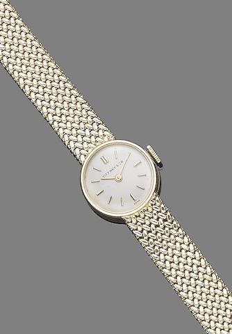 A wristwatch, by Tiffany & Co.