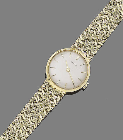 A wristwatch, by Tiffany & Co.