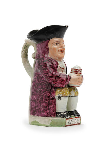 An Ordinary-type Toby jug Circa 1800