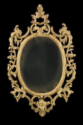A George III period giltwood mirror Circa 1765