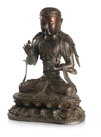 A bronze of Buddha Republic