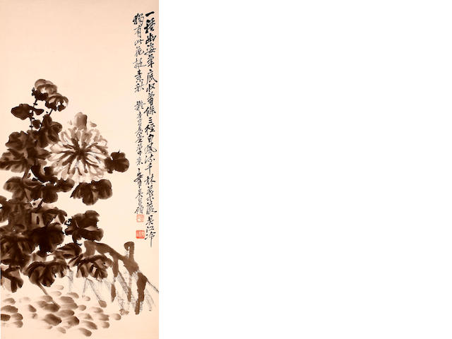After Wu Changshuo (1844 - 1927) Chrysanthemum