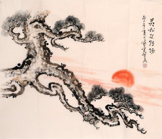 Sheng Liangxian (1919 - 2008) Sunrise