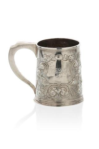 An Australian silver mug possibly Robert Broad Sydney, circa 1840