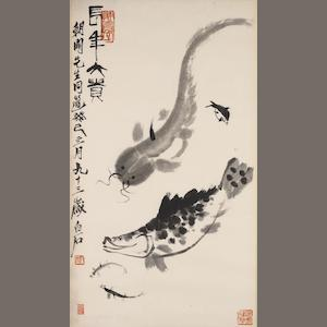Qi Baishi (1863-1957) Fish of Longevity and Prosperity