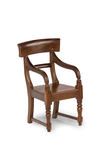 An Australian cedar child's chair Circa 1840