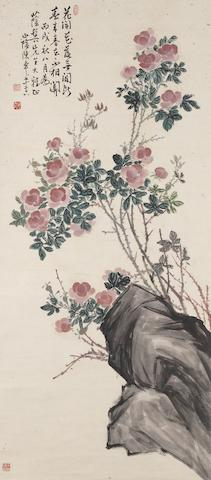 Chen Banding (1876-1970) Spring Flowers