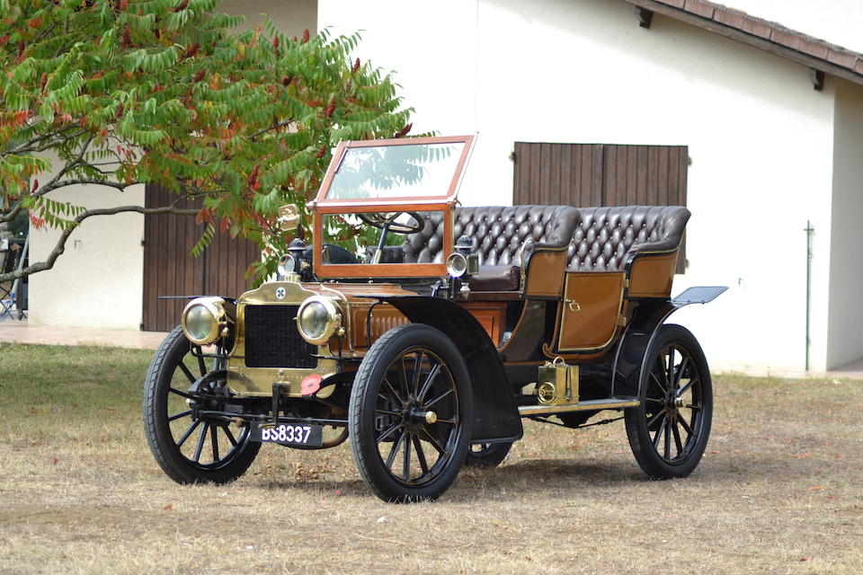 1904 Richard-Brasier Four-Cylinder 16hp Side-Entrance Tonneau, Chassis no. O-95 Engine no. 1685-O