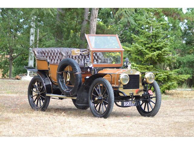 1904 Richard-Brasier Four-Cylinder 16hp Side-Entrance Tonneau, Chassis no. O-95 Engine no. 1685-O