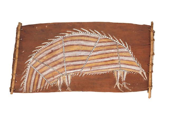 Mick Kubarkku (born circa 1925) Narrbek (Echidna or Spiny Anteater)