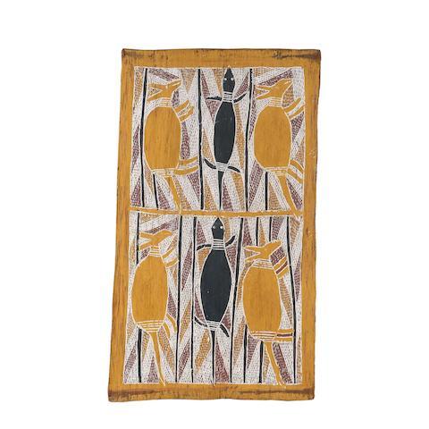 Mawalan Marika (circa 1908-1967) Untitled (Hunting Story)